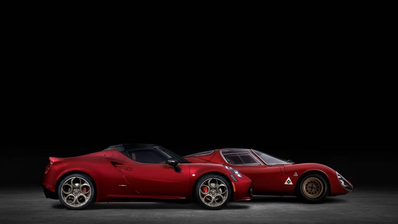 2021 Alfa Romeo 4C Spider 33 Stradale Tributo pays homage to Alfa's racing DNA