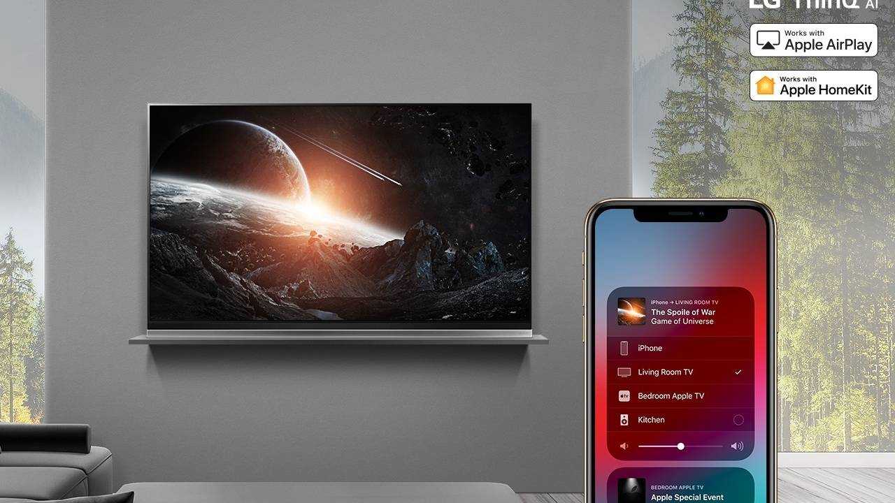 LG 2018 smart TVs finally get promised AirPlay 2, HomeKit