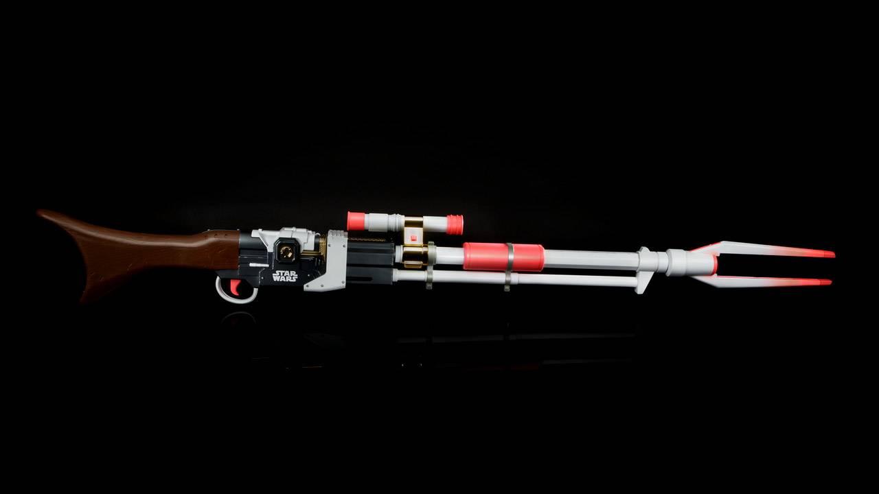 Star Wars NERF Amban Phase-pulse blaster needs a paint job