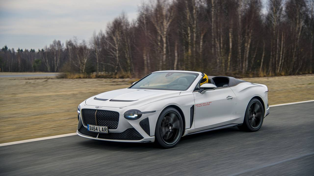 Bentley commences real-world testing of its ultra-exclusive Bacalar roofless GT
