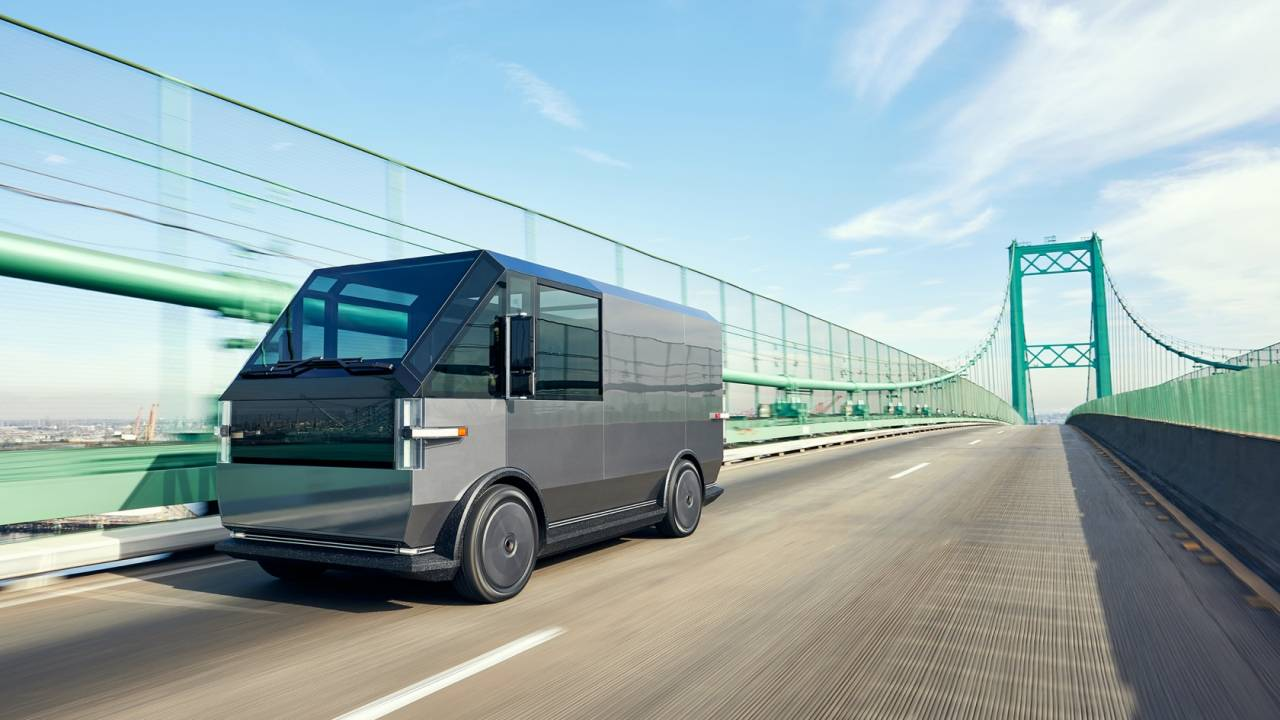 Canoo electric delivery vehicle aims to upset Rivian and Ford