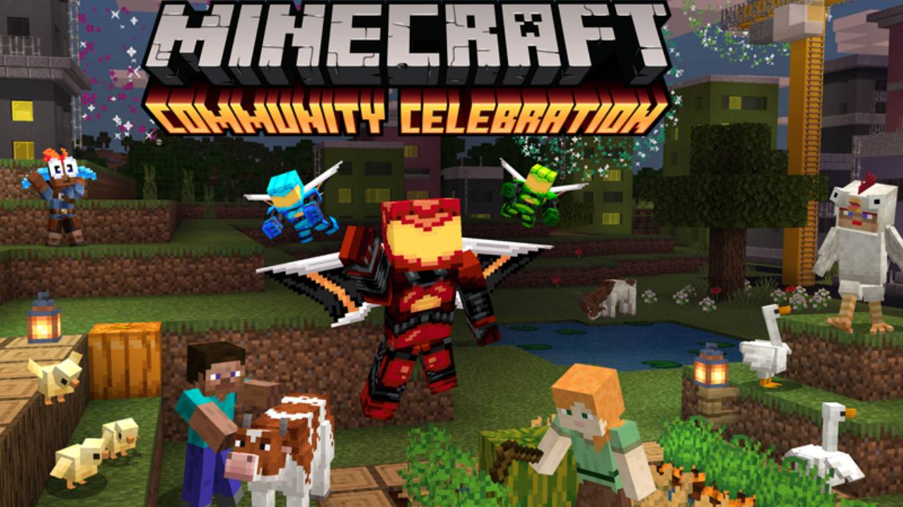 Minecraft Community Celebration brings freebies, Windows ray tracing