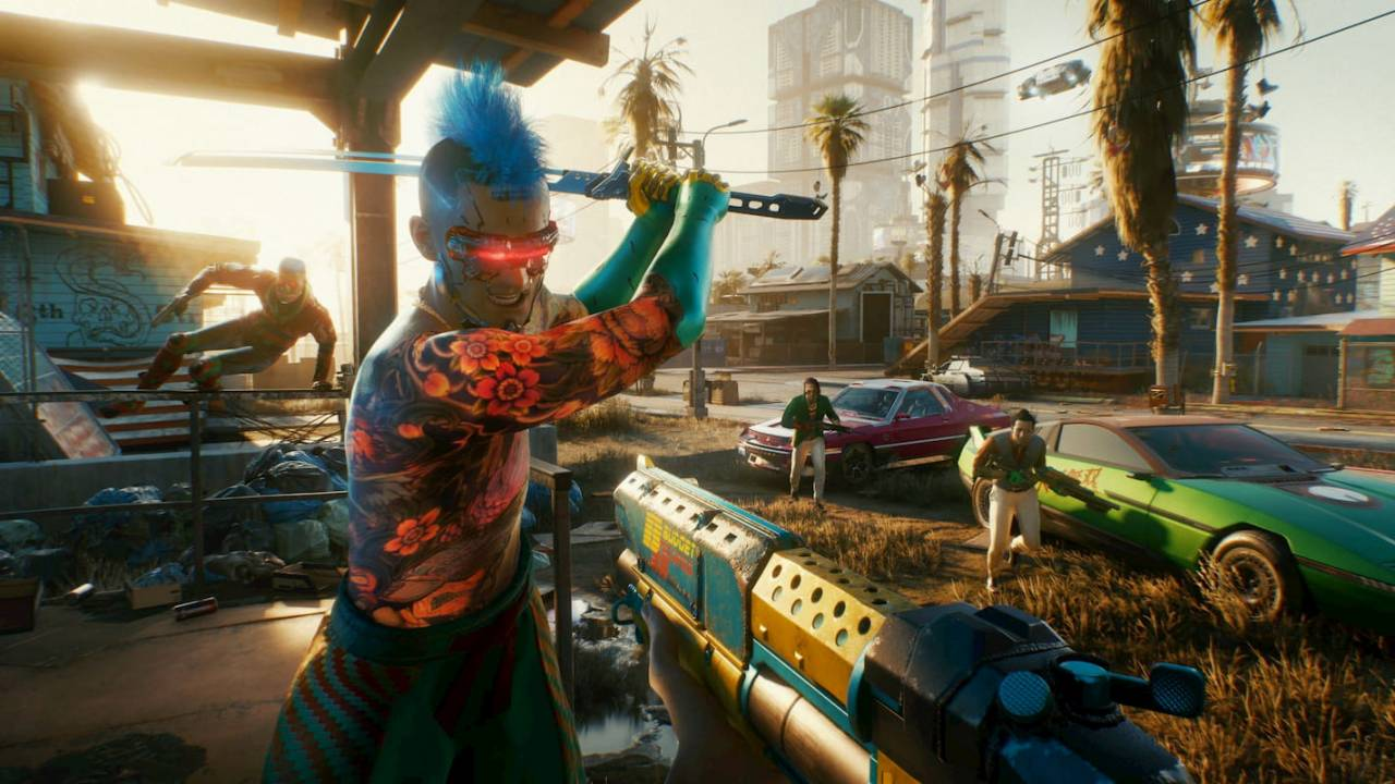 First Cyberpunk 2077 DLC is arriving early next year