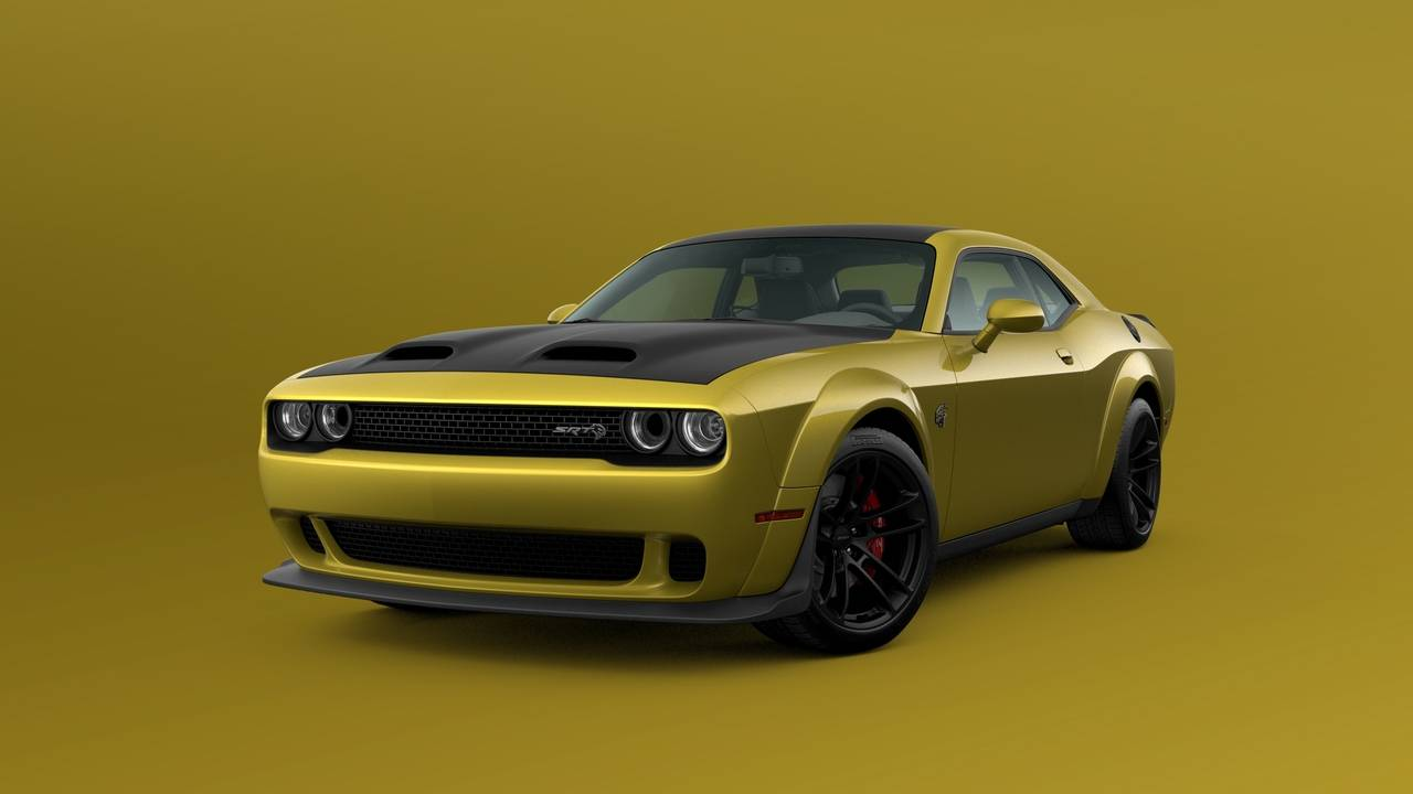 2021 Dodge Challenger Gold Rush is back by popular demand