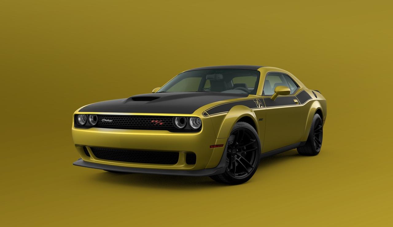 2021 Dodge Challenger Gold Rush Is Back By Popular Demand Slashgear