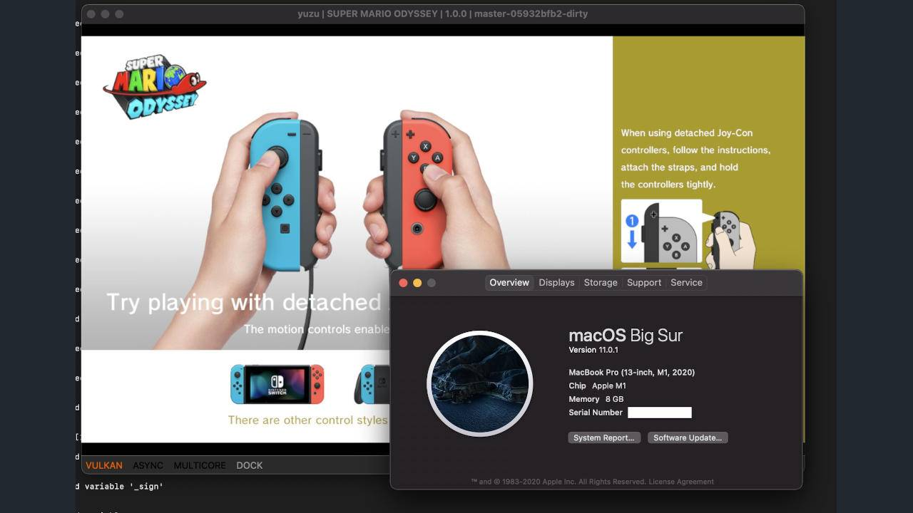 Nintendo Switch emulation on M1 Macs looks very promising