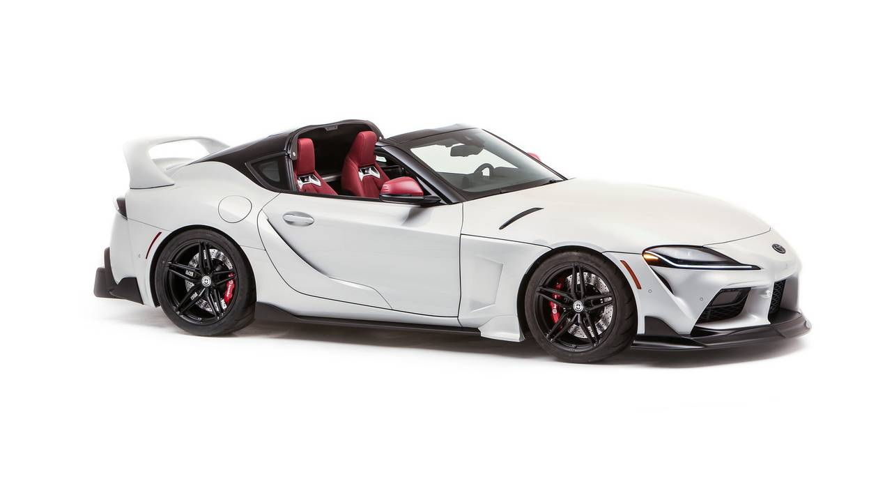 Toyota hits the jackpot with custom-built Supra Sport Top