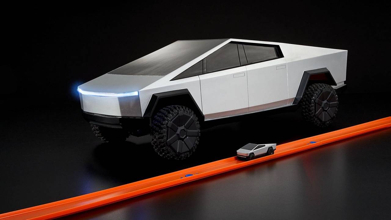Tesla Cybertruck R/C toy delayed by Hot Wheels