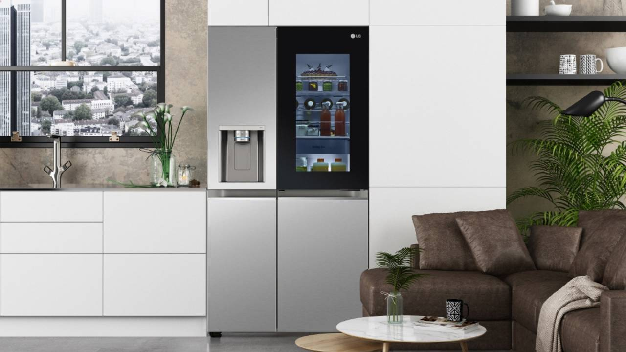 LG InstaView refrigerators get voice-controlled doors for 2021