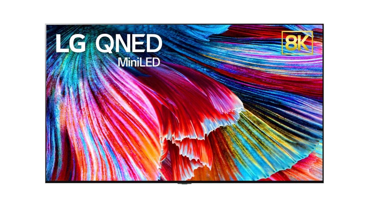 LG QNED TVs put 30,000 Mini LEDs behind an LCD screen