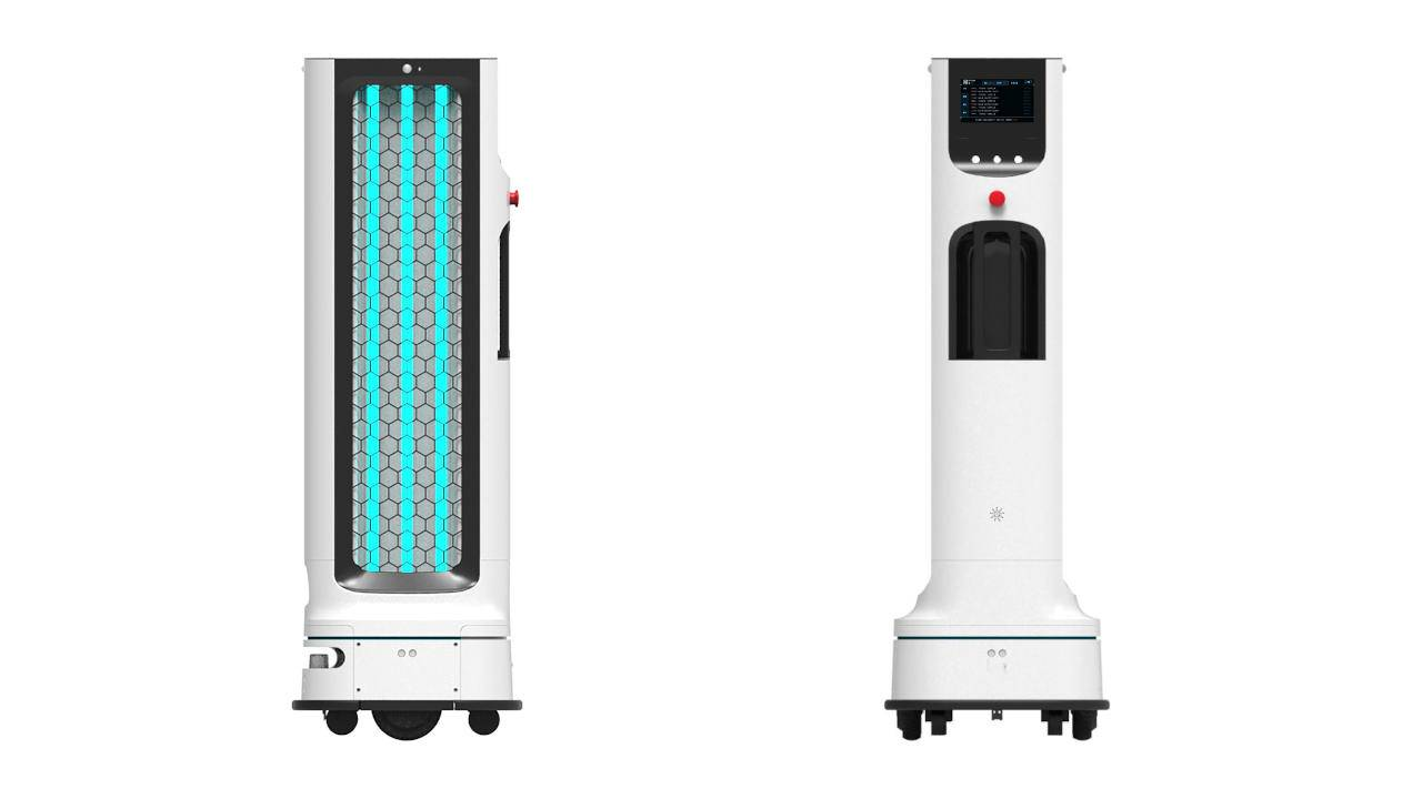 LG autonomous UV robot will help sanitize hotels, classrooms next year