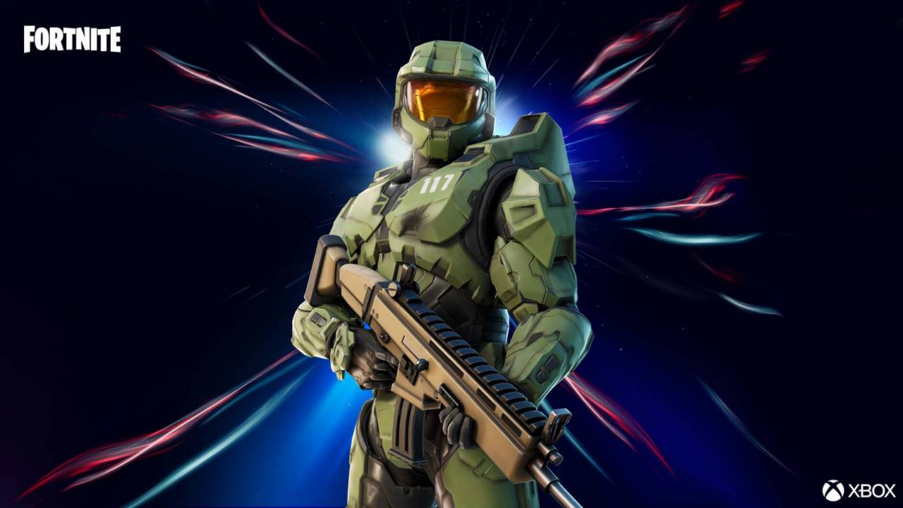 Master Chief joins Fortnite along with Halo's most iconic map