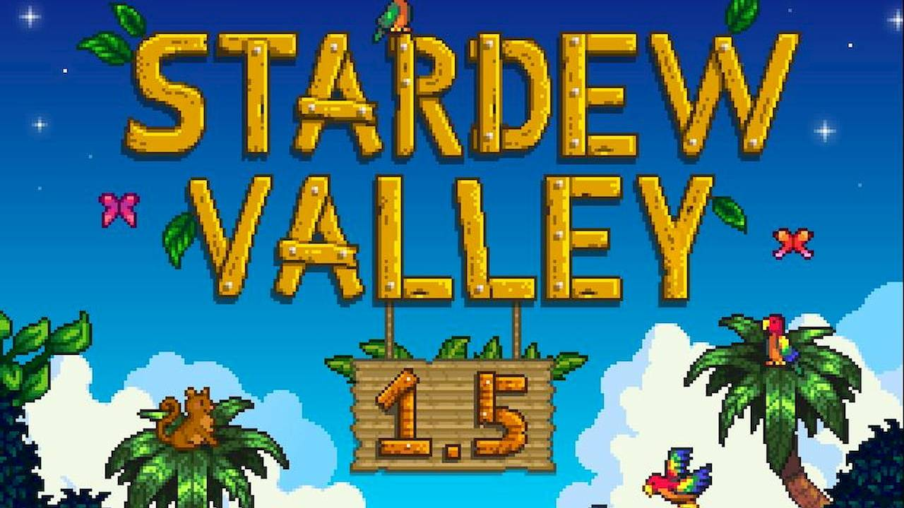 Stardew Valley 1.5 update gets a surprise release on PC