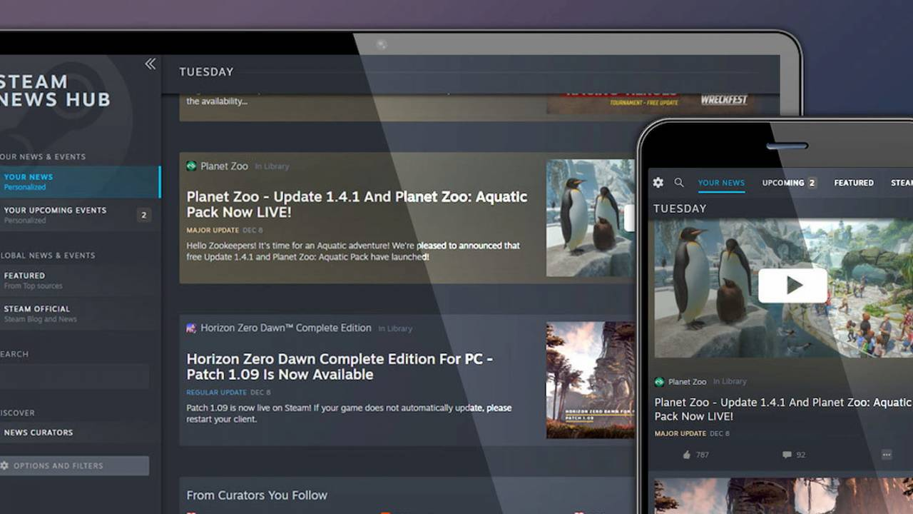 Steam News Hub rolls out to everyone: What to expect