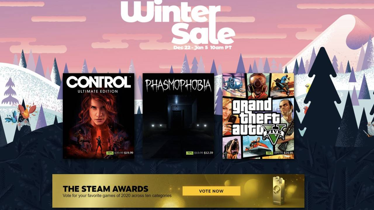 Steam Winter Sale 2020 opens – The games up for grabs