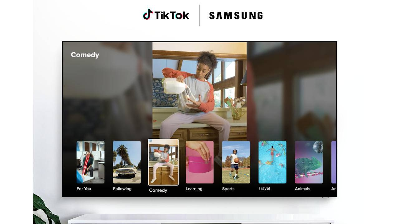 Samsung Smart TVs get exclusive TikTok TV app in Europe