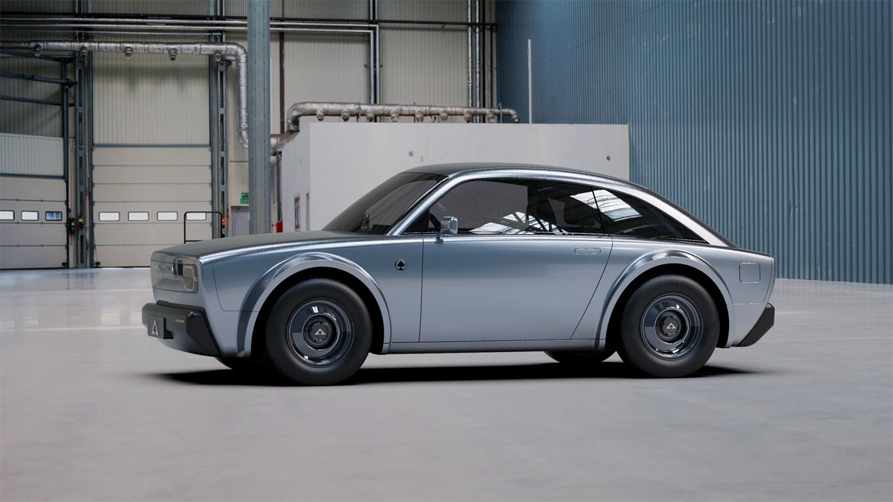 Alpha Ace Coupe is a very cool urban EV