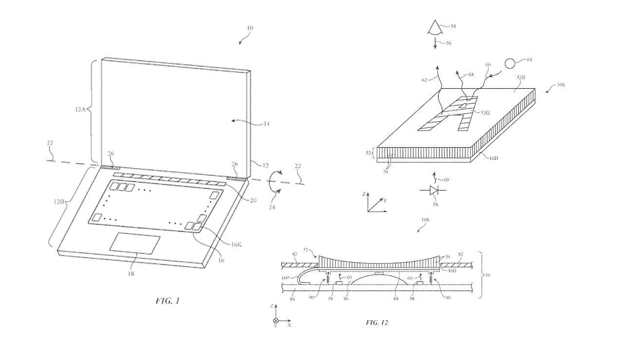Apple patent reveals a keyboard that can change its display