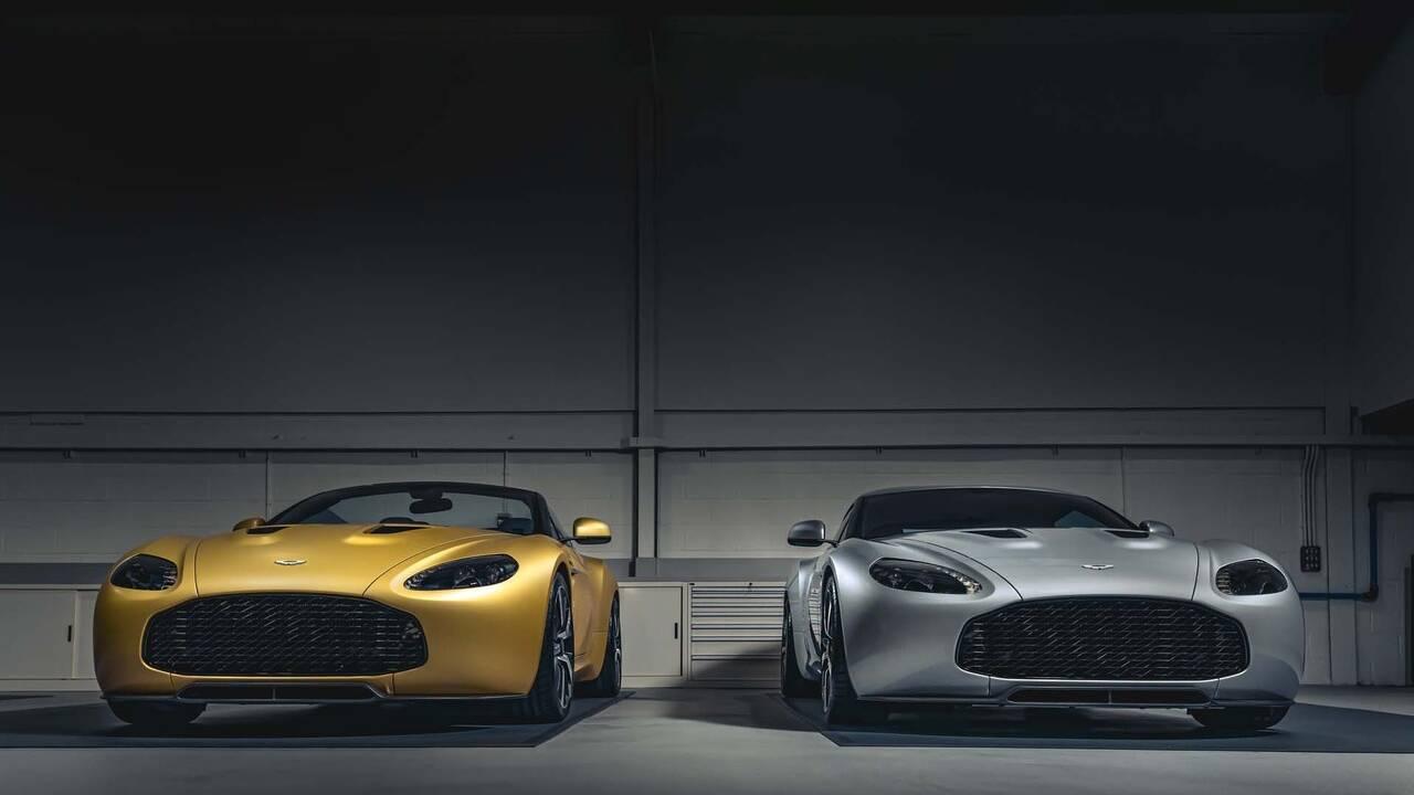 R-Reforged unveils Aston Martin Vantage V12 Zagato Heritage TWINS