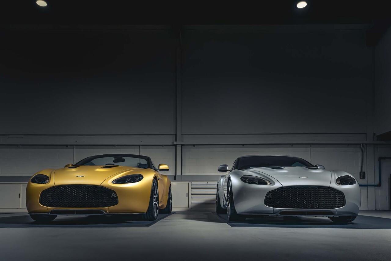 R Reforged Unveils Aston Martin Vantage V12 Zagato Heritage Twins Slashgear