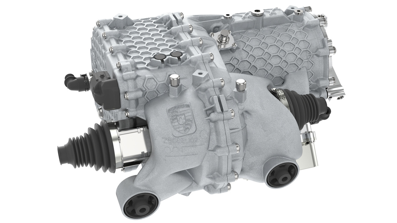Porsche unveils new electric drive housing from 3D printing and additive manufacturing