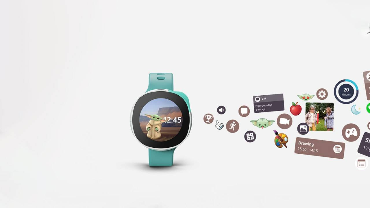 Disney Vodafone Neo sorta turns Grogu into a Tamagotchi