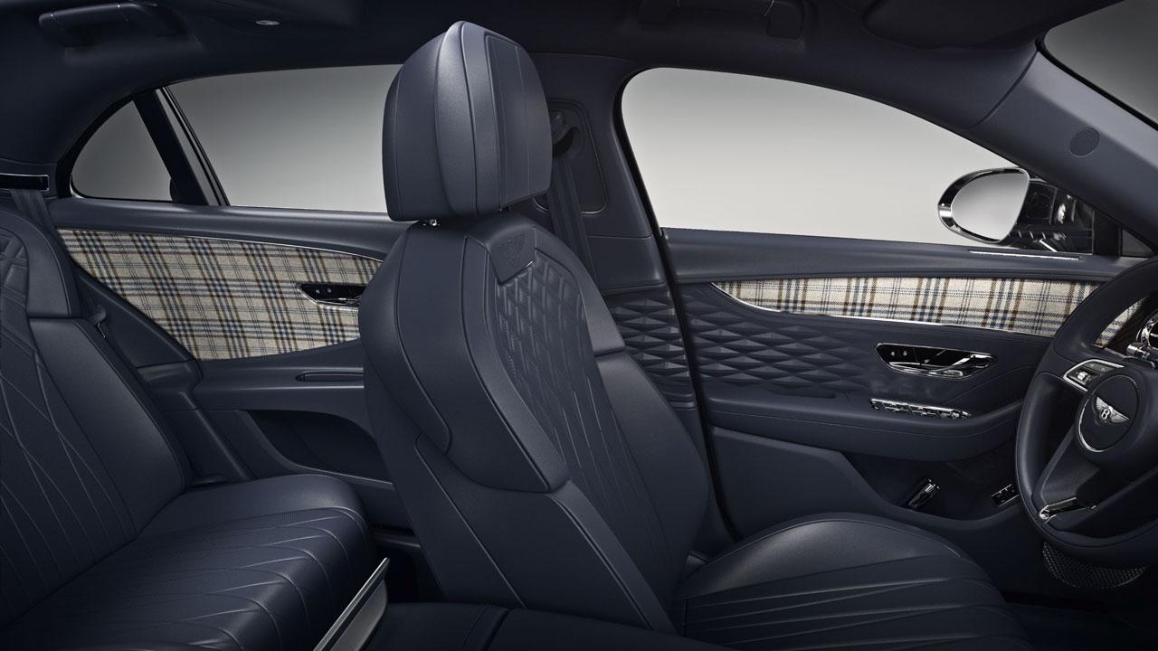 Bentley adds tweed options for Grand Tourer interiors