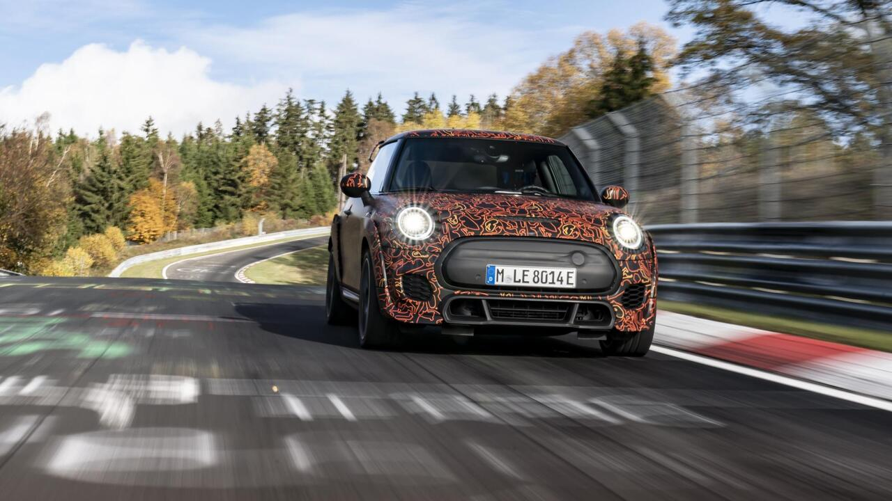 MINI is working on an all-electric John Cooper Works hot hatchback