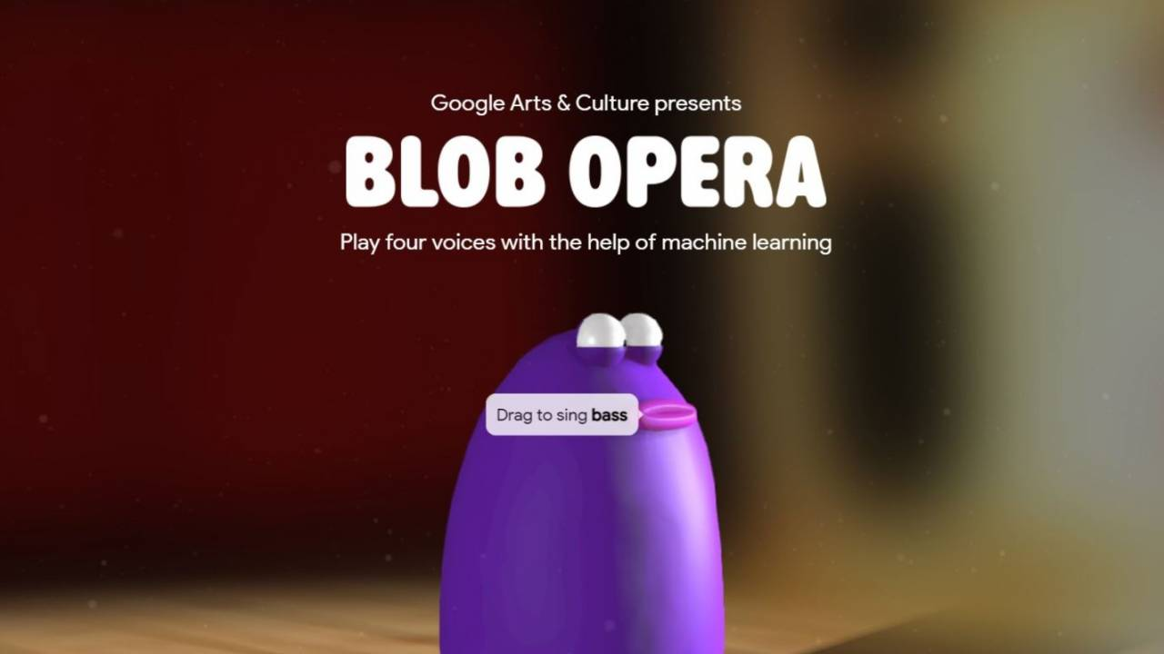 Google's Blob Opera experiment lets anyone create dramatic music