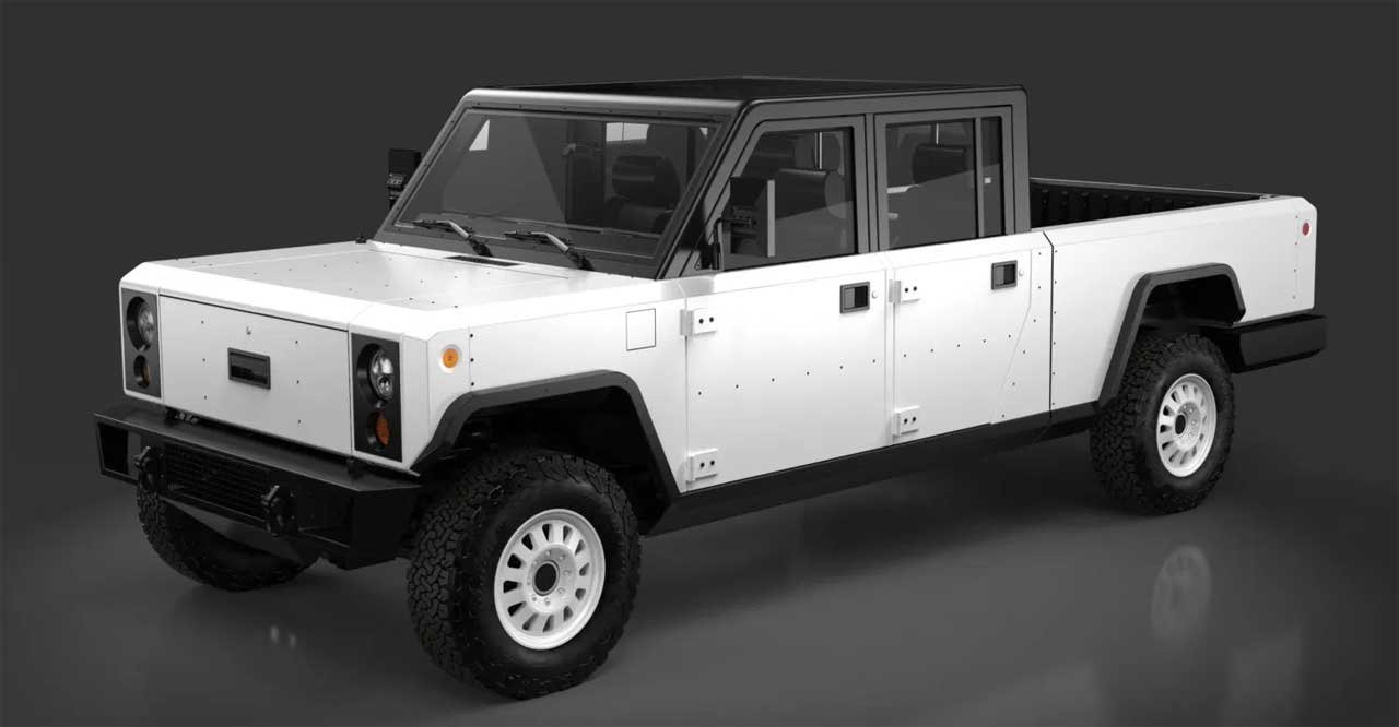 Bollinger shows off production-intent electric truck and SUV