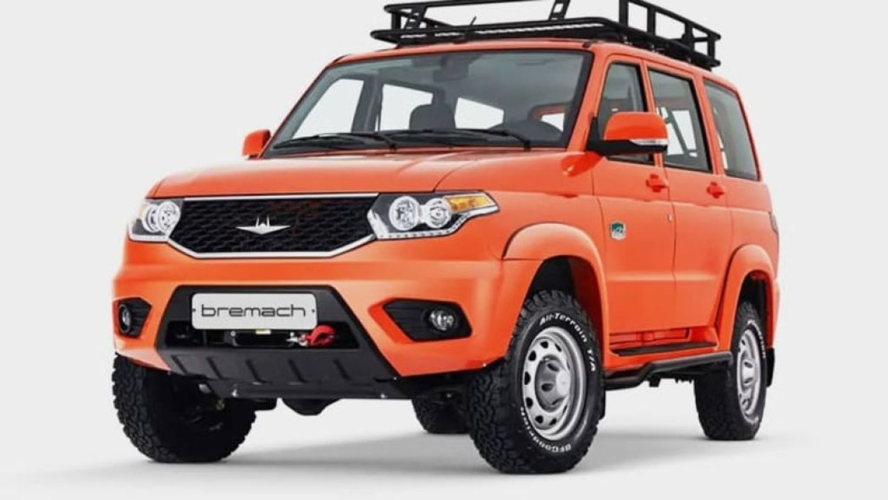 A rugged off-roader called the Bremach Taos is coming to America