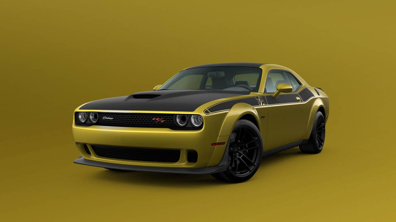 Dodge adds Gold Rush paint for select 2021 Challenger models