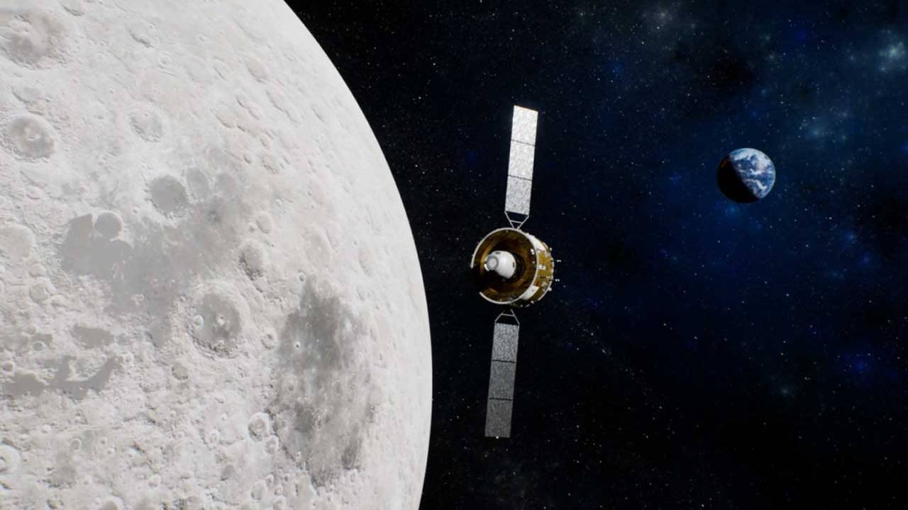 Chang'e 5 performs its first moon-Earth transfer injection maneuver