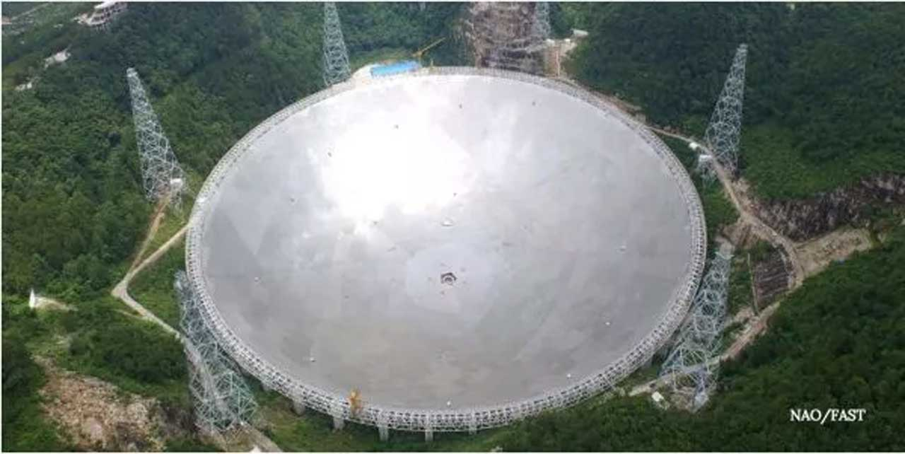 China's FAST radio telescope will open to international scientists in 2021
