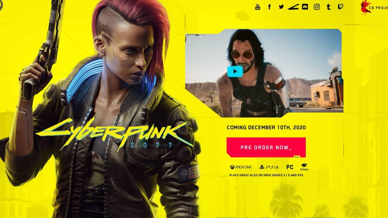 Cyberpunk 2077 free downloads are unsurprising scams
