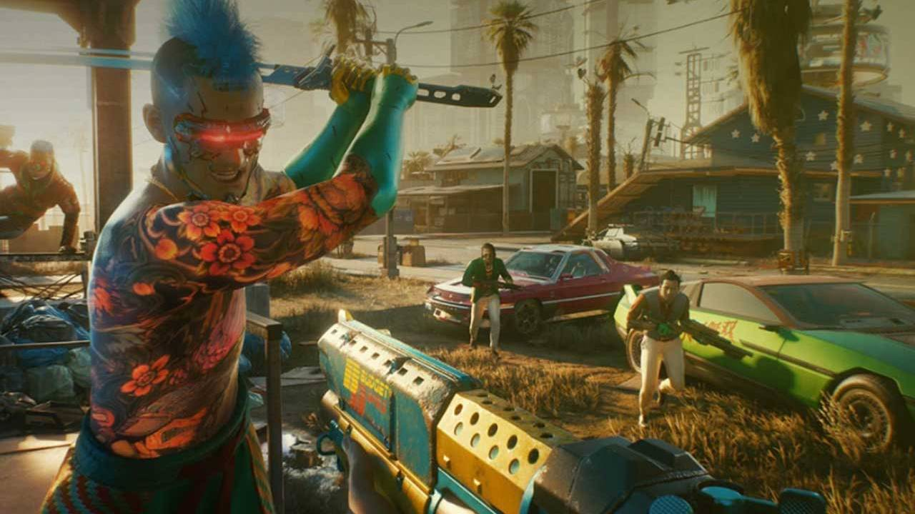 Cyberpunk 2077 will have a day one patch