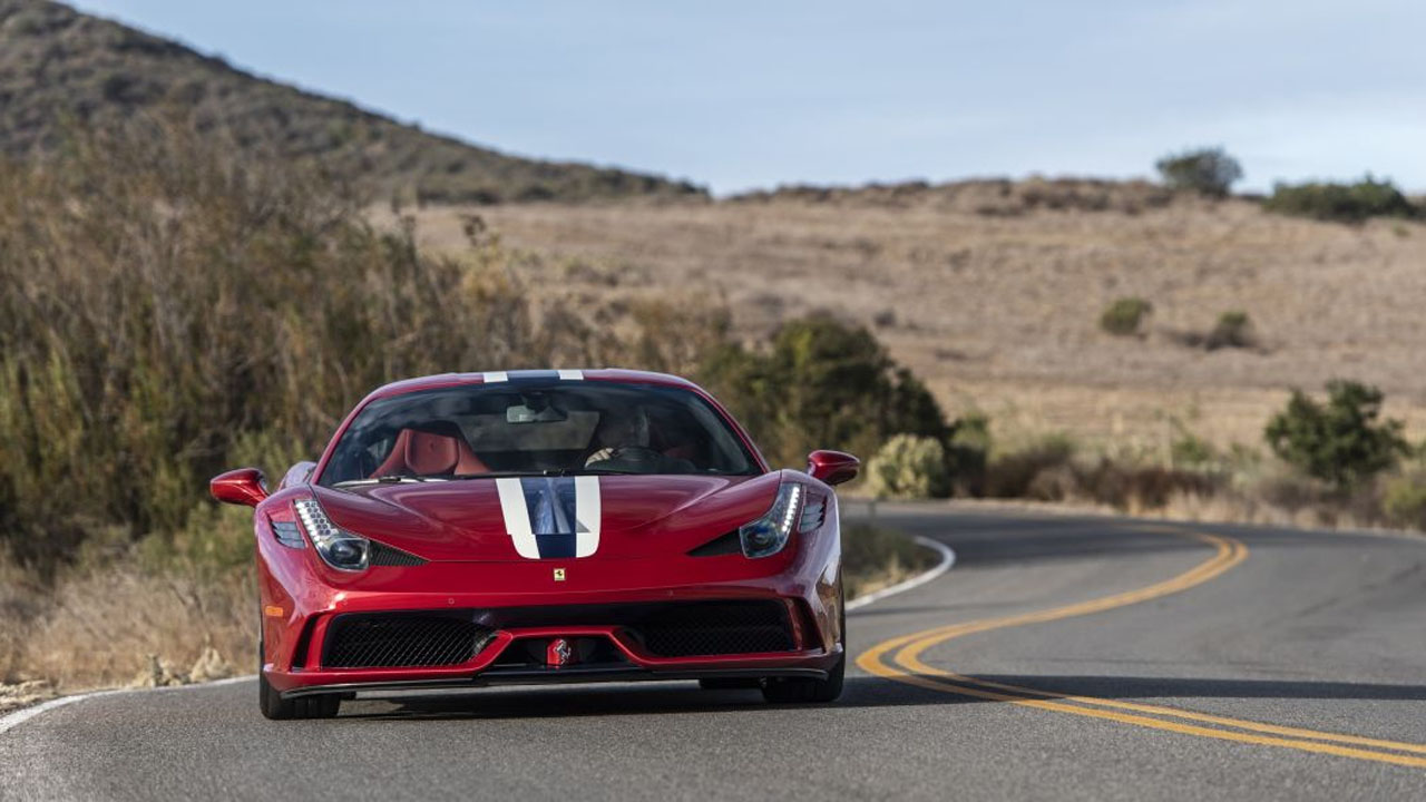 This Ferrari 458 Speciale is a rolling armored safe room