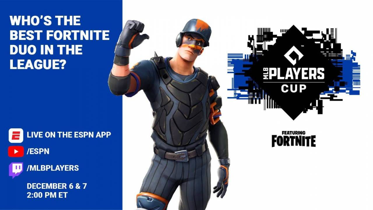Fortnite MLB Players Cup launches today: How to stream the event