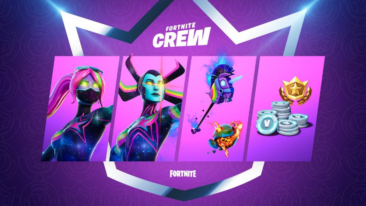 Fortnite Crew subscription's 'Galaxia' exclusive is about to disappear
