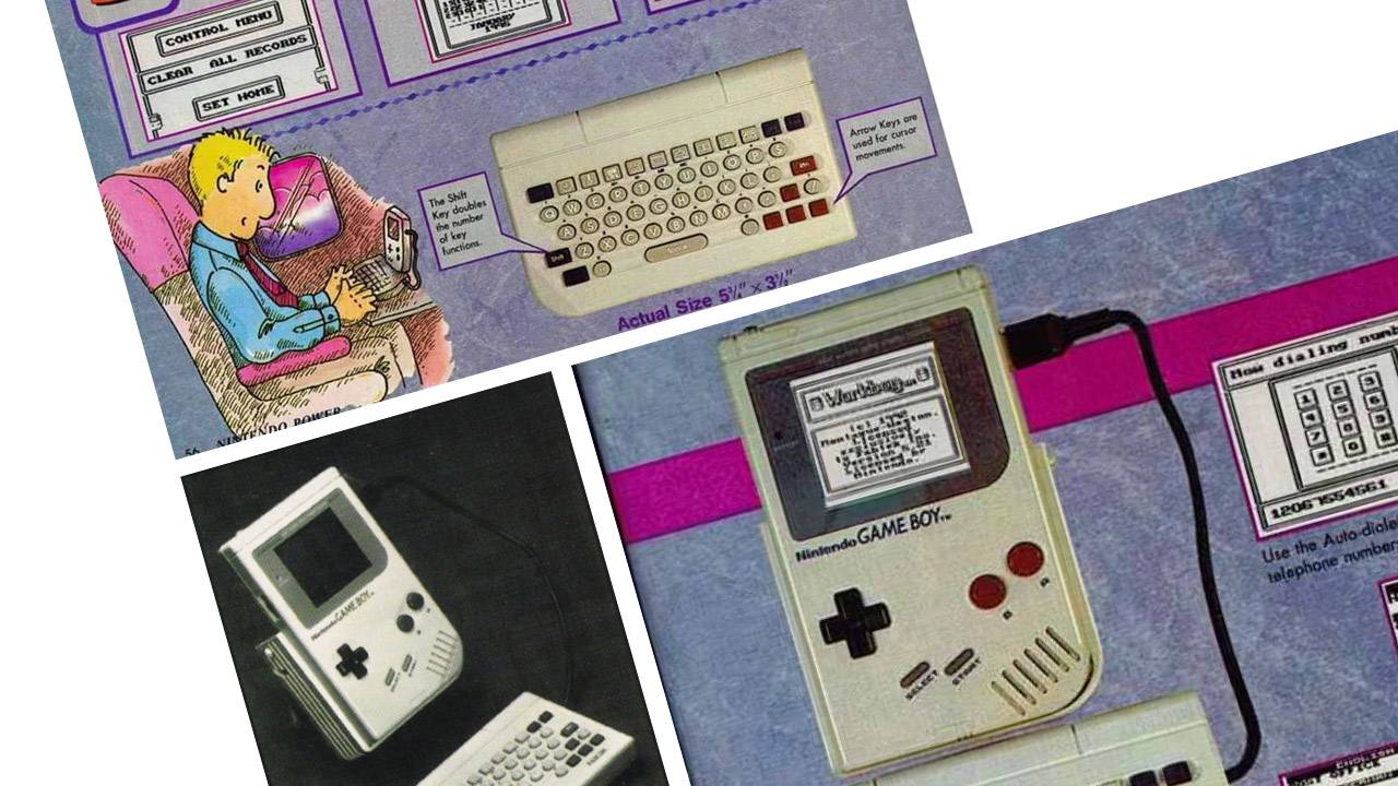 Forgotten Game Boy keyboard revealed, with Phone function