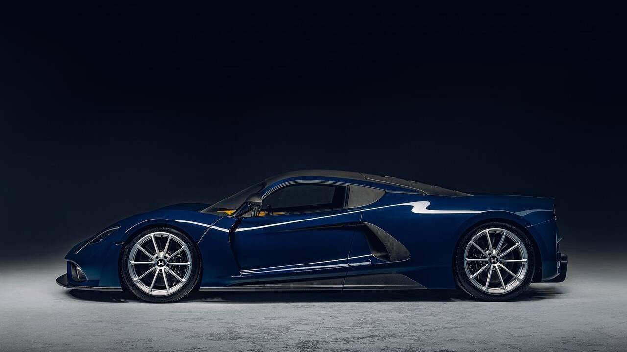 Hennessey unveils Venom F5 hyper sports car