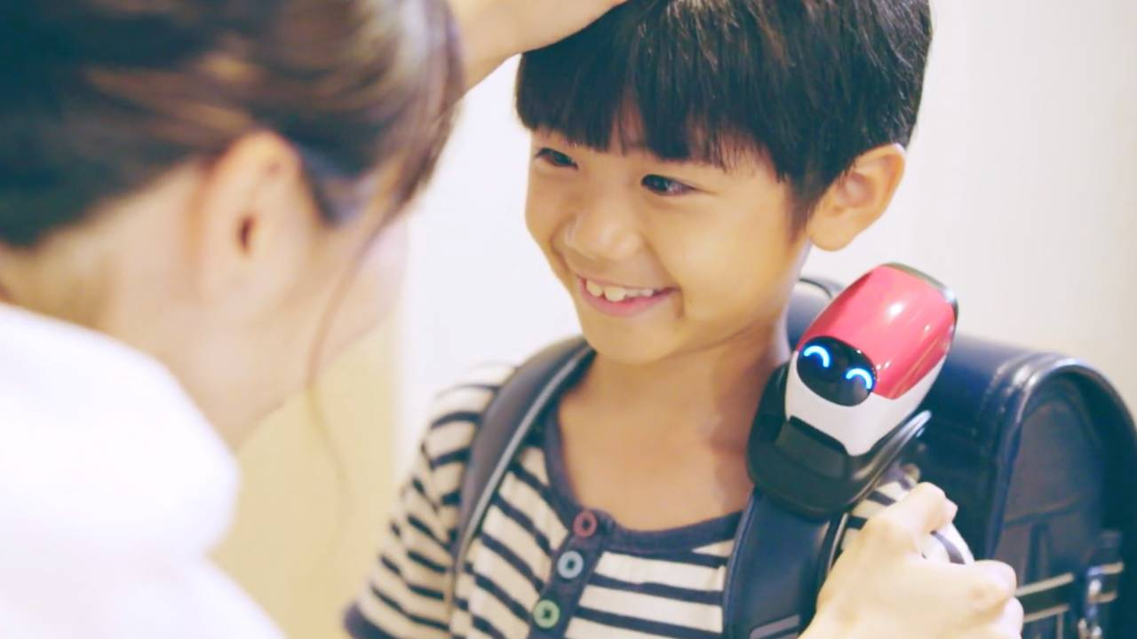 Honda made a guardian angel robot to help kids avoid road accidents