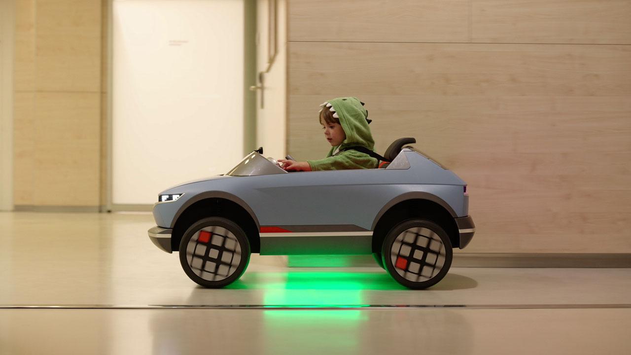 Hyundai Mini 45 EV is an AI-powered children's toy