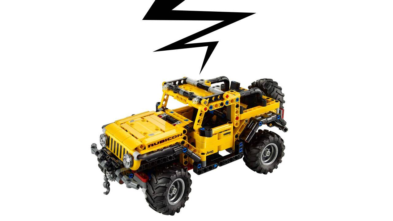 LEGO Jeep Wrangler is a world's first