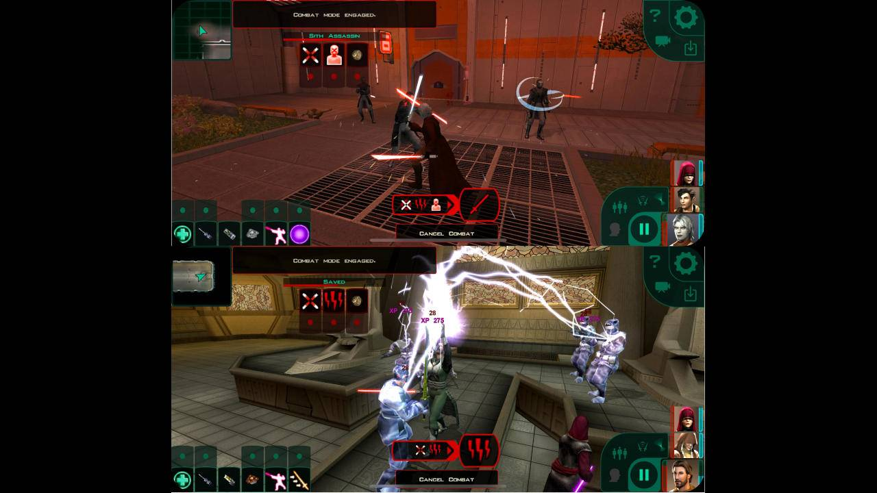Star Wars: Knights of the Old Republic II is finally coming to mobile