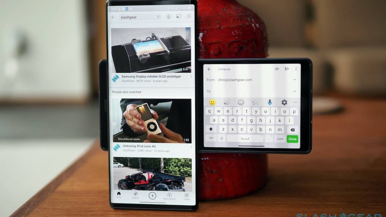 Verizon LG Wing update brings new second screen features