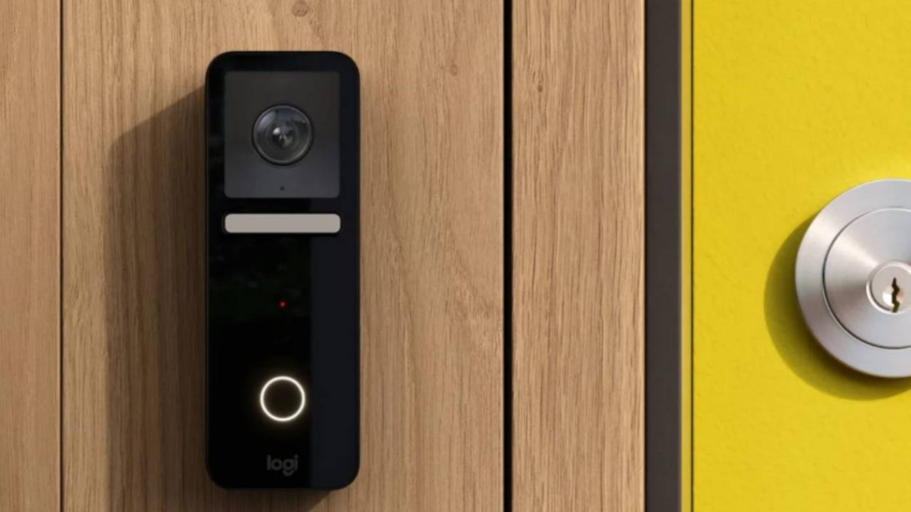 Logitech Circle View Doorbell with facial recognition is made for Apple users