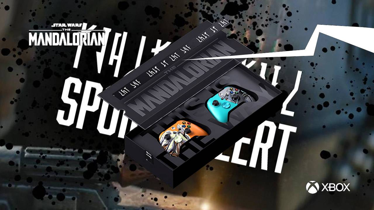 Mandalorian Xbox controllers verify Boba Fett chain code