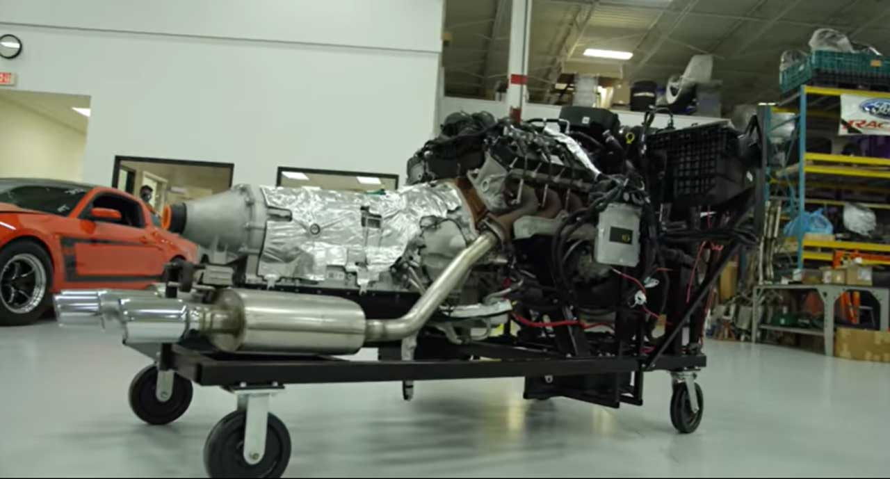 Ford Performance teases new Megazilla crate engine