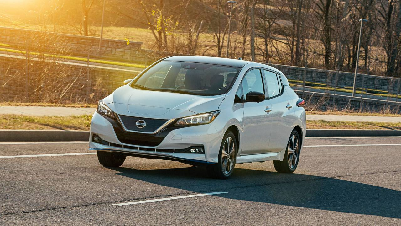 Nissan celebrates a decade of its Leaf electric vehicle